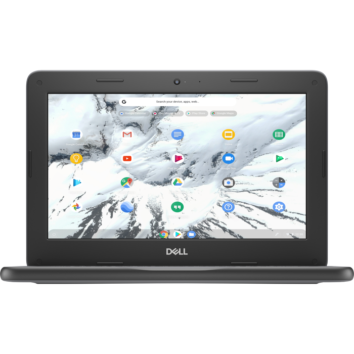 Dell Chromebook 11 3100 Laptop Computer Non-Touch - Celeron N4020-4-32GB Black 11.6in - 1470510
