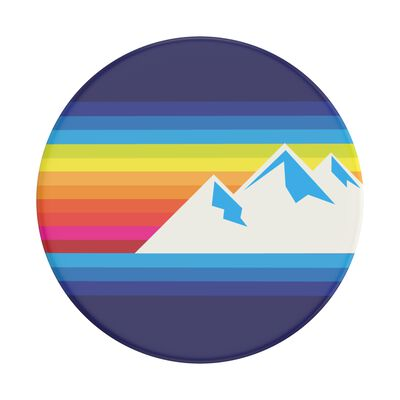 Mountain Range Swappable PopSocket
