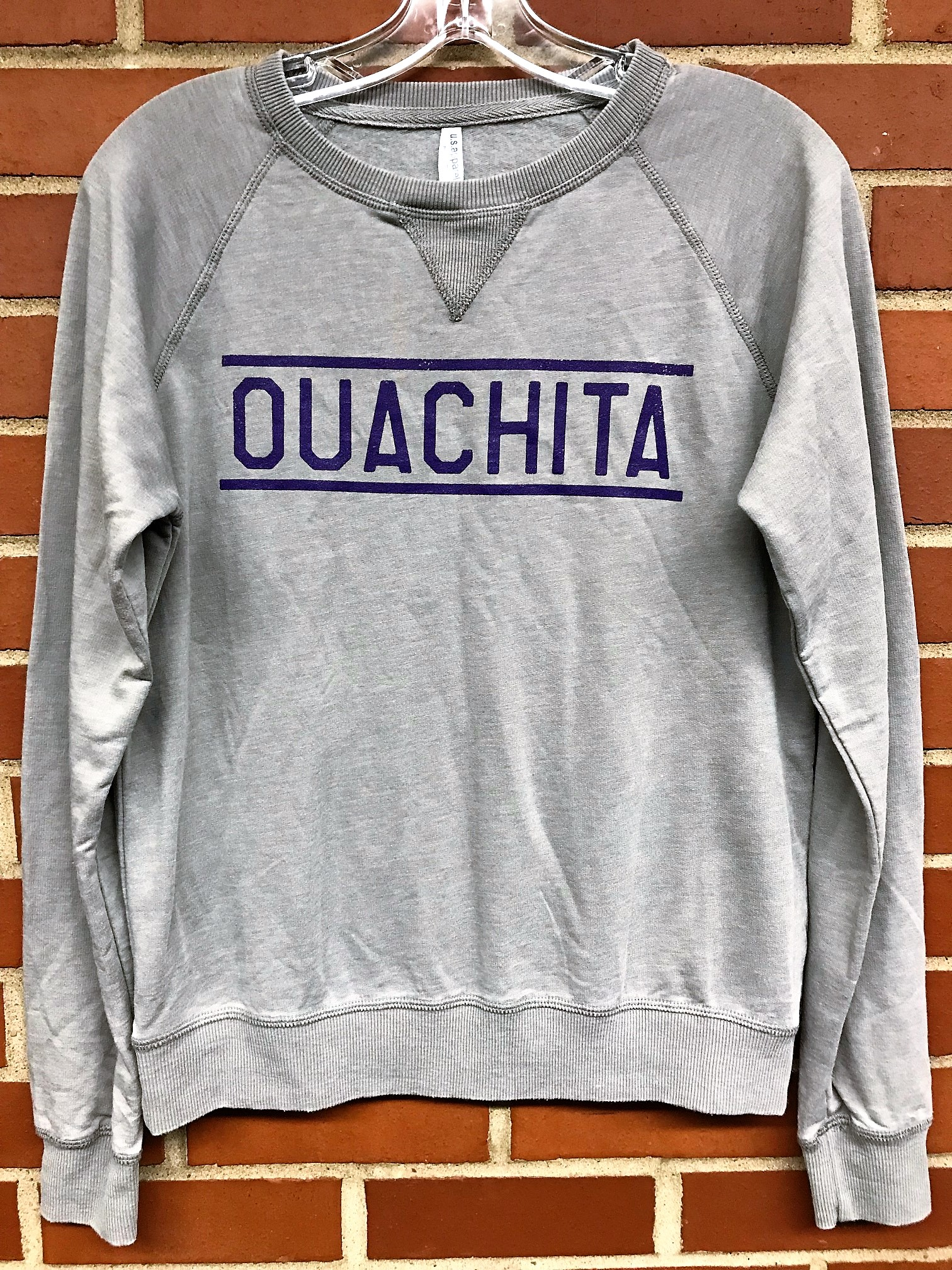 OUACHITA VINTAGE WASHED CREW NECK