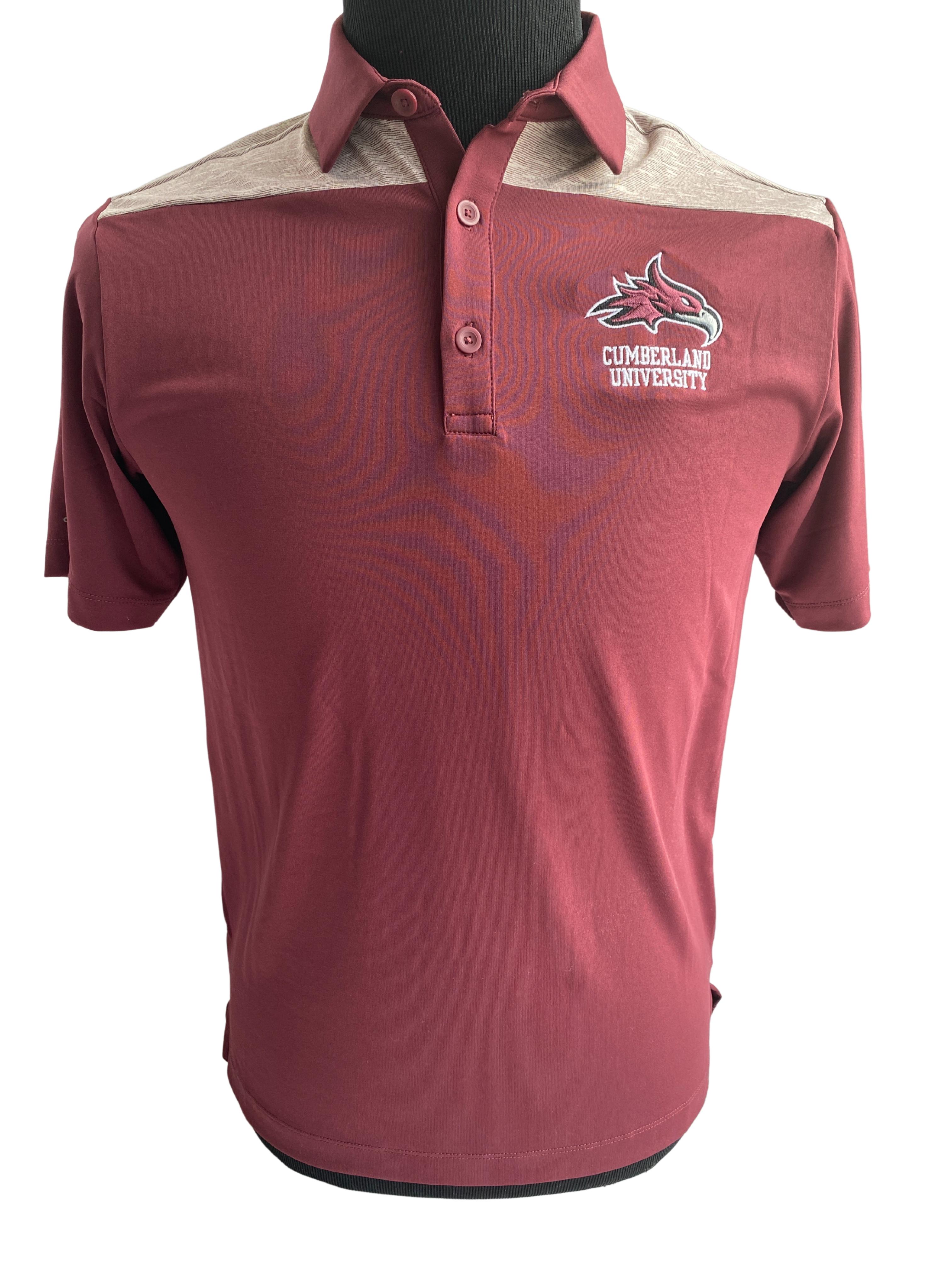 Cumberland University w/ Phoenix Logo Omni-Wick Polo