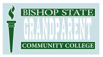Bishop State Grandparent Decal