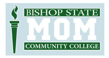 Bishop State Mom Decal