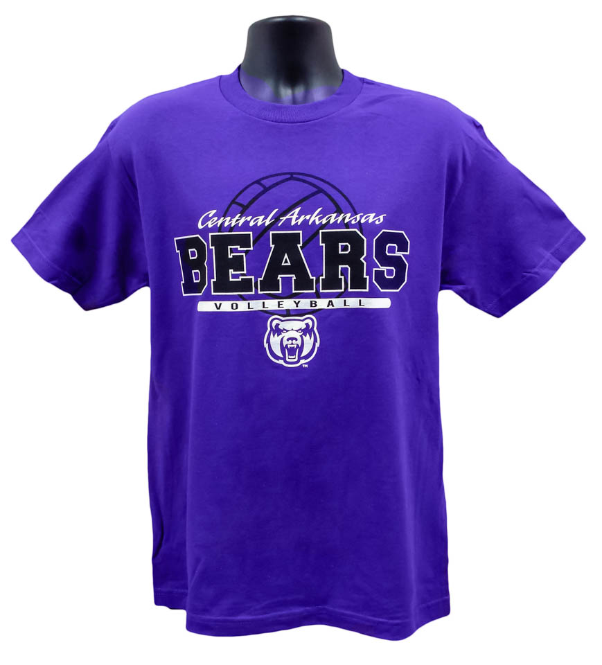 Volleyball Central Arkansas Bears Tee