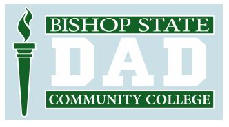 Bishop State Dad Decal
