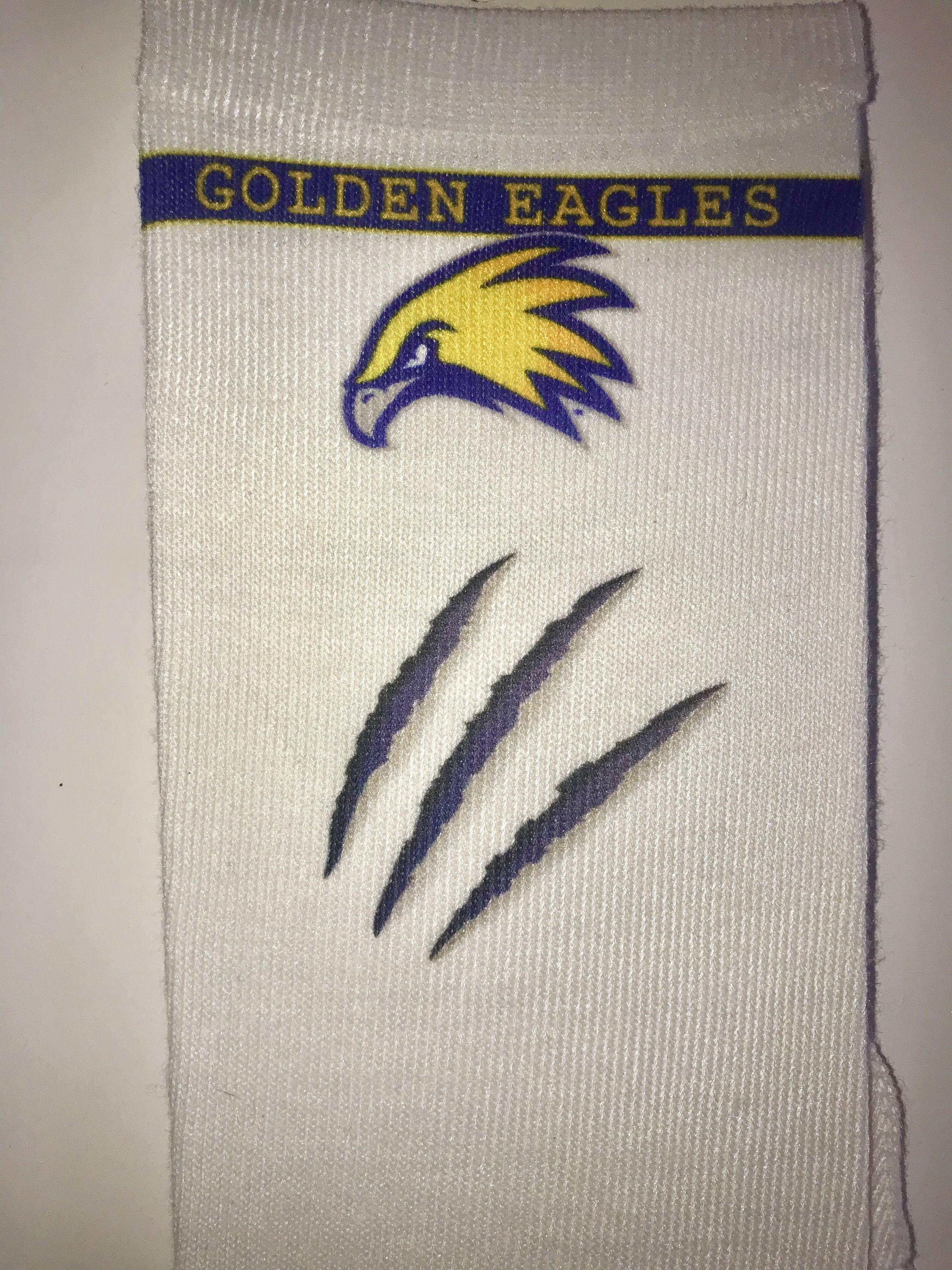 Golden Eagles Athletics Socks