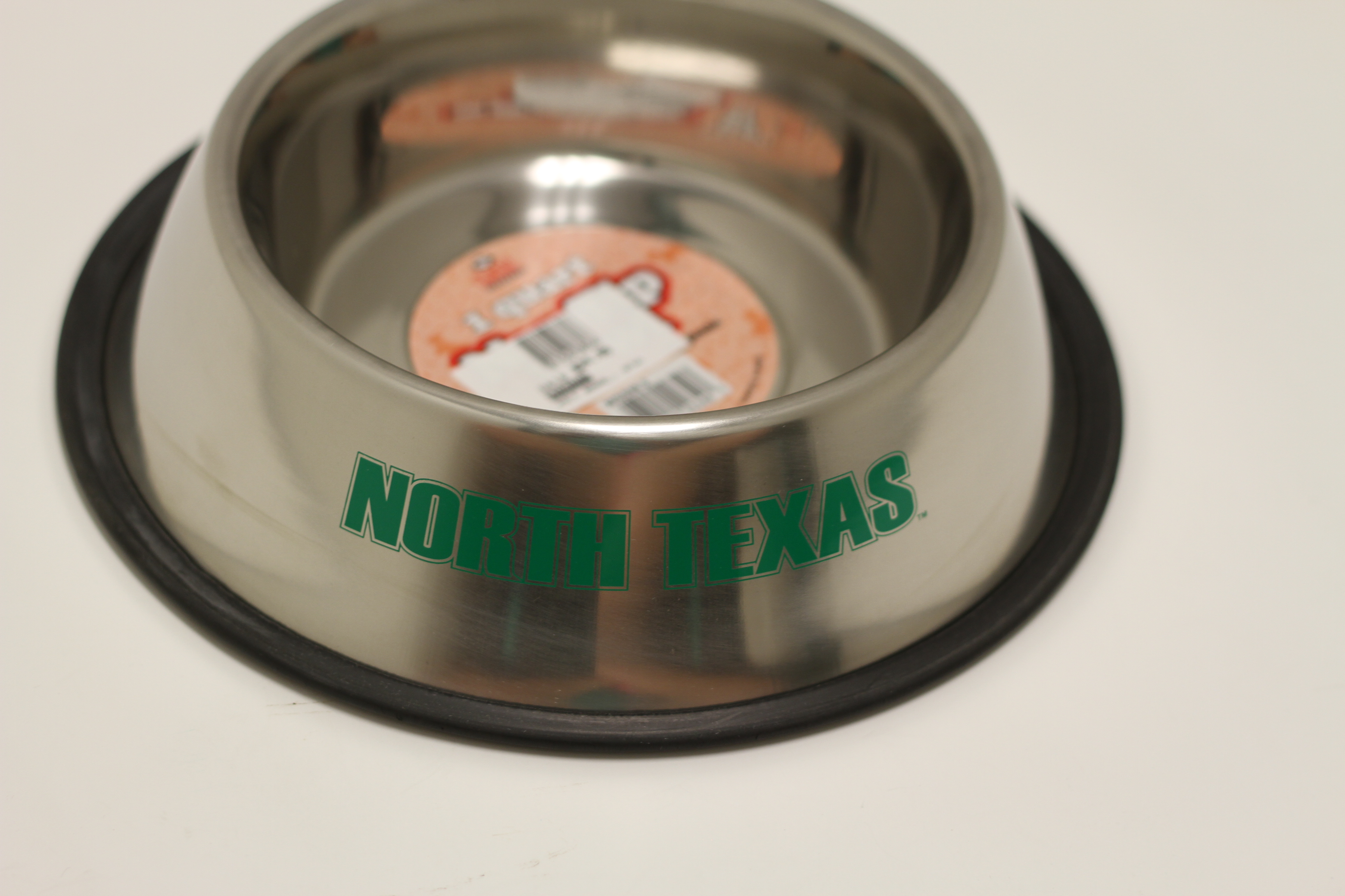 STAINLESS STEEL PET BOWL W/ GRIP