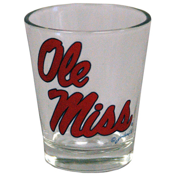 Ole Miss Shot Glass
