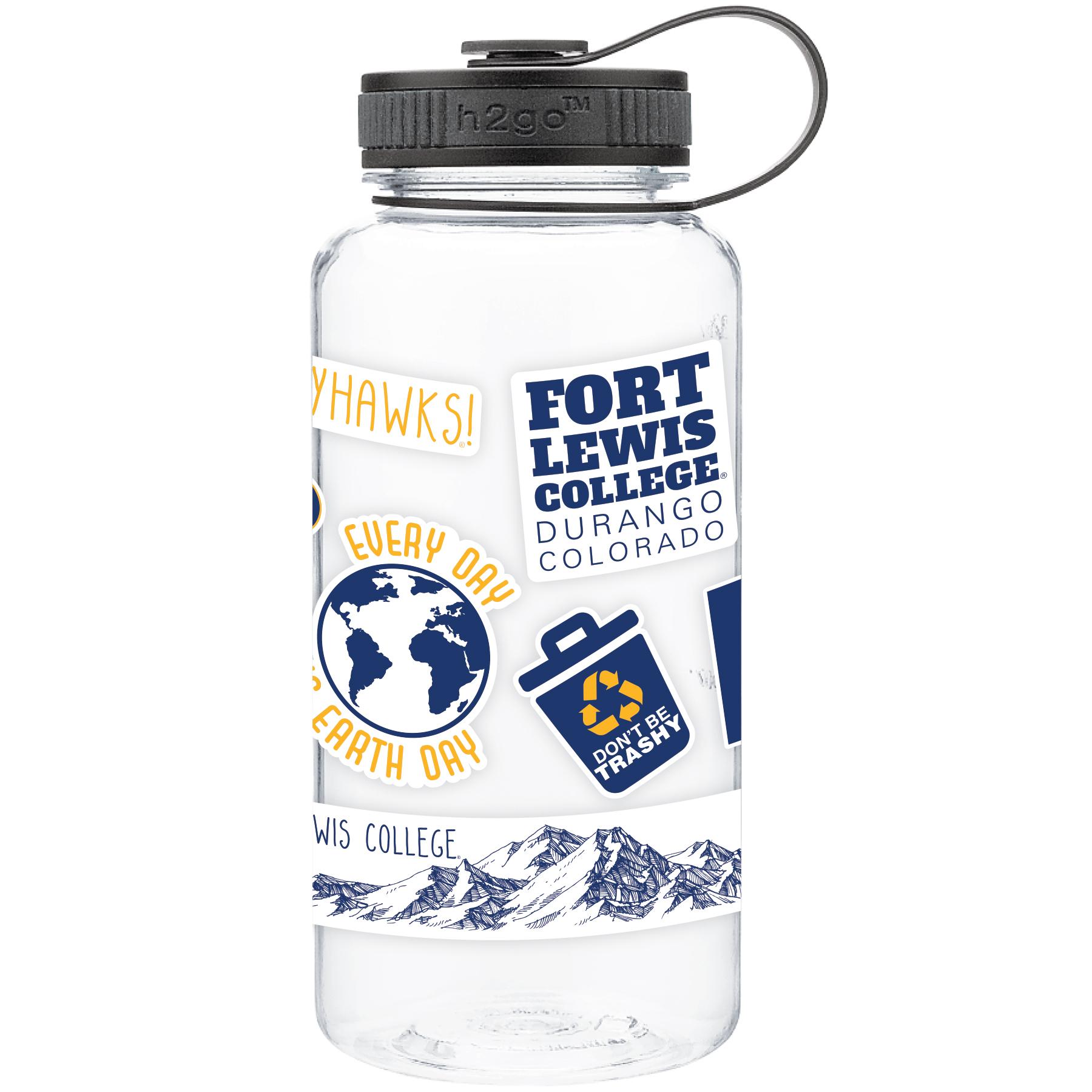 FLC Sticker Water Bottle