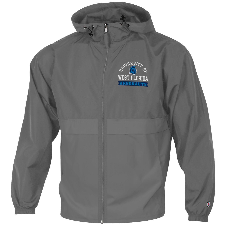 Light Weight Full Zip Rain Jacket