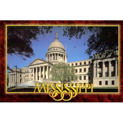 Mississippi State Capitol Postcard
