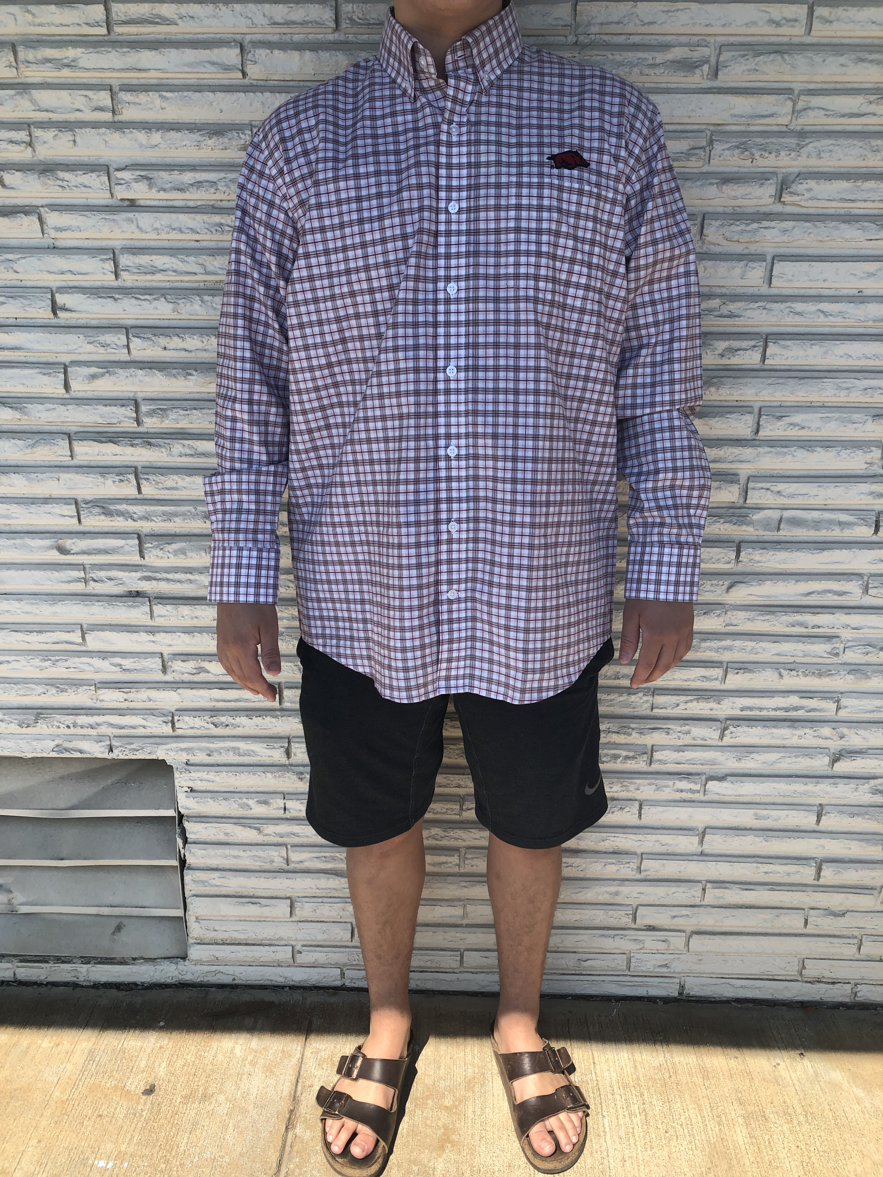 M Legacy Plaid Button Up