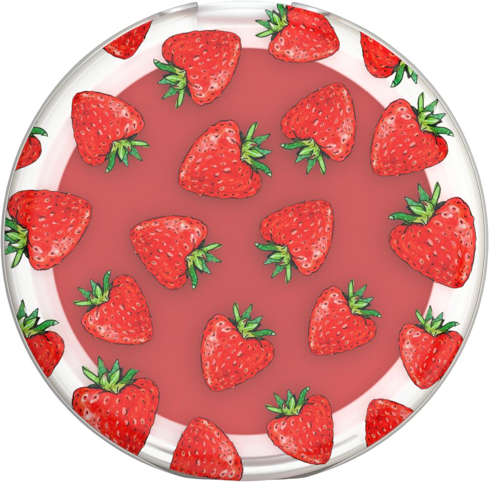 Strawberry Feels Lip Balm PopSocket