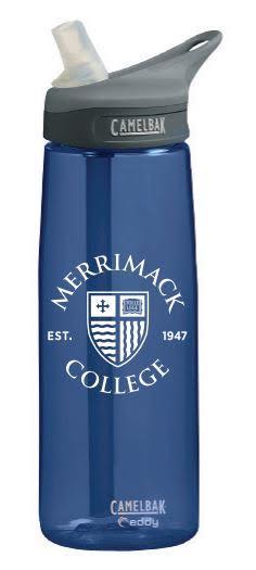 Navy Eddy Water Bottle