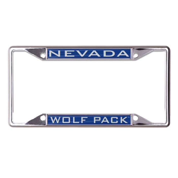 Metal Nevada Wolf Pack License Plate Frame