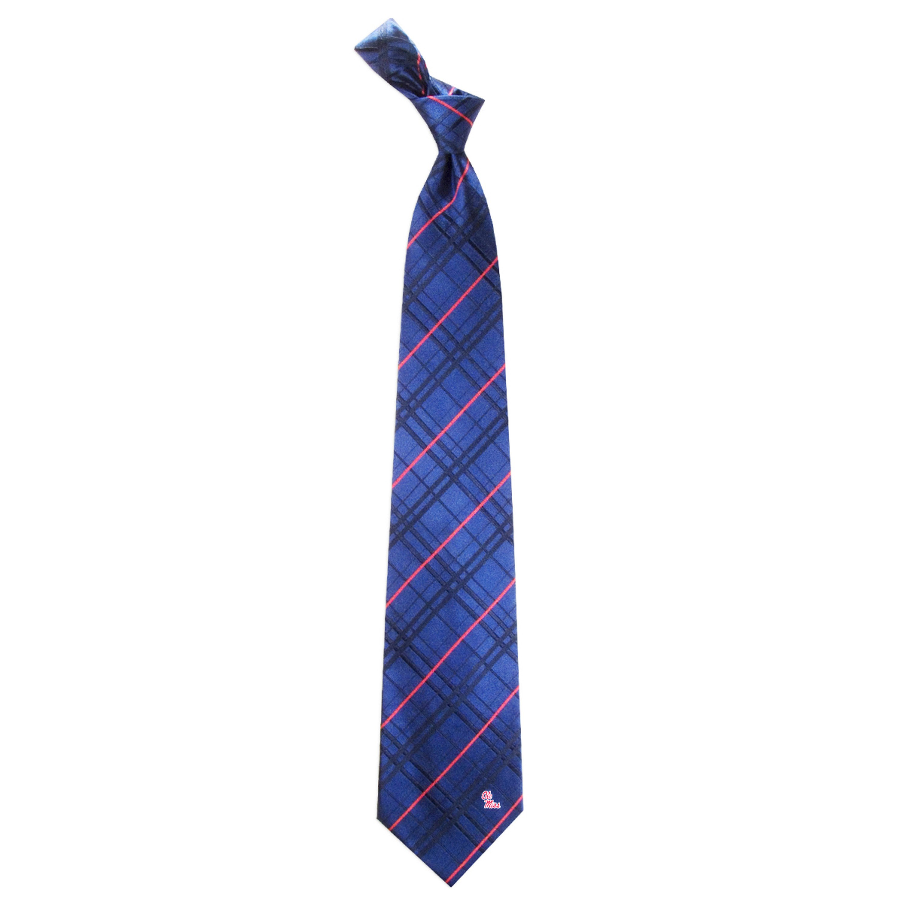 Ole Miss Tie - Oxford Woven