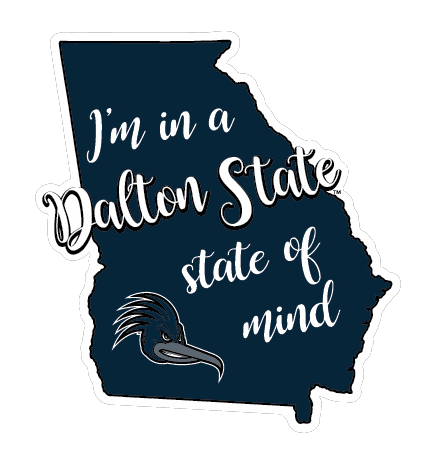 """Dalton State State of Mind 6"""" Decal"""