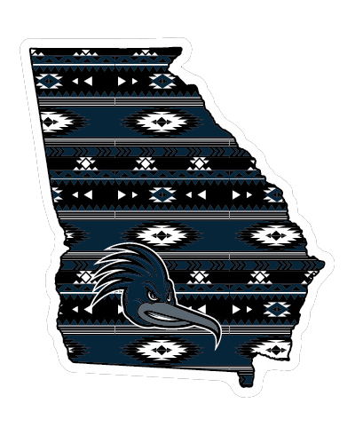 """DS Aztec State Shape 6"""" Decal"""