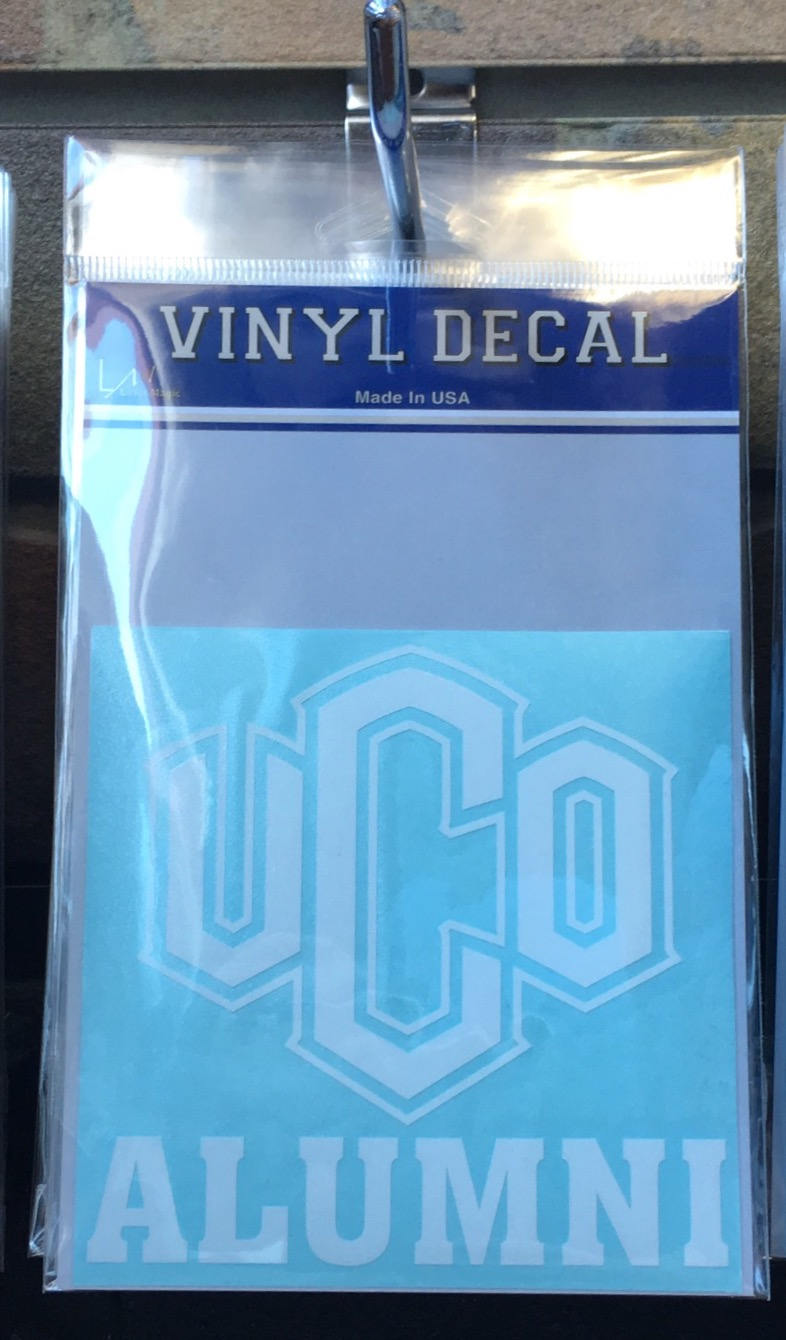 UCO Alumni Decal