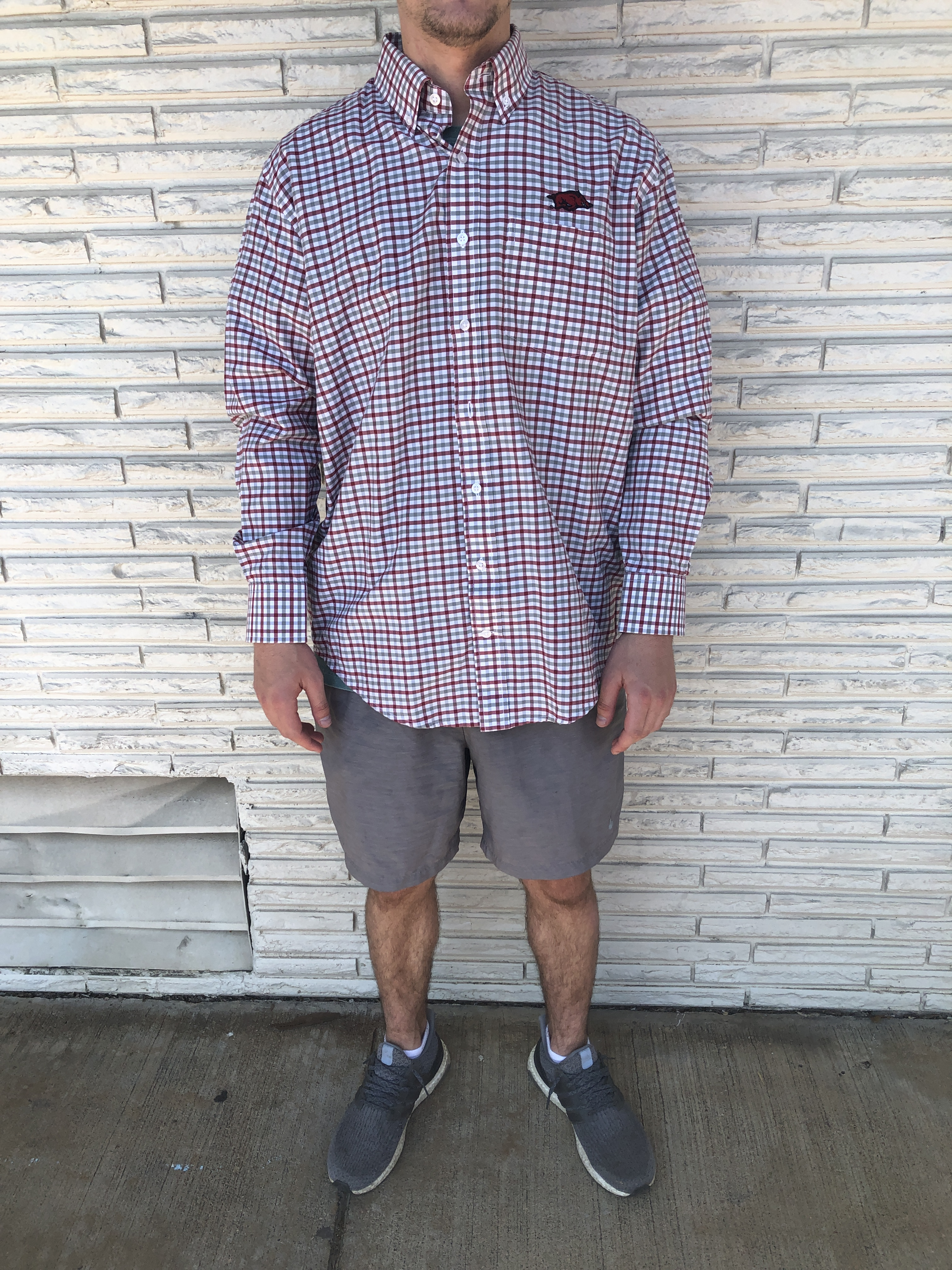 Ulti Gingham Button Up