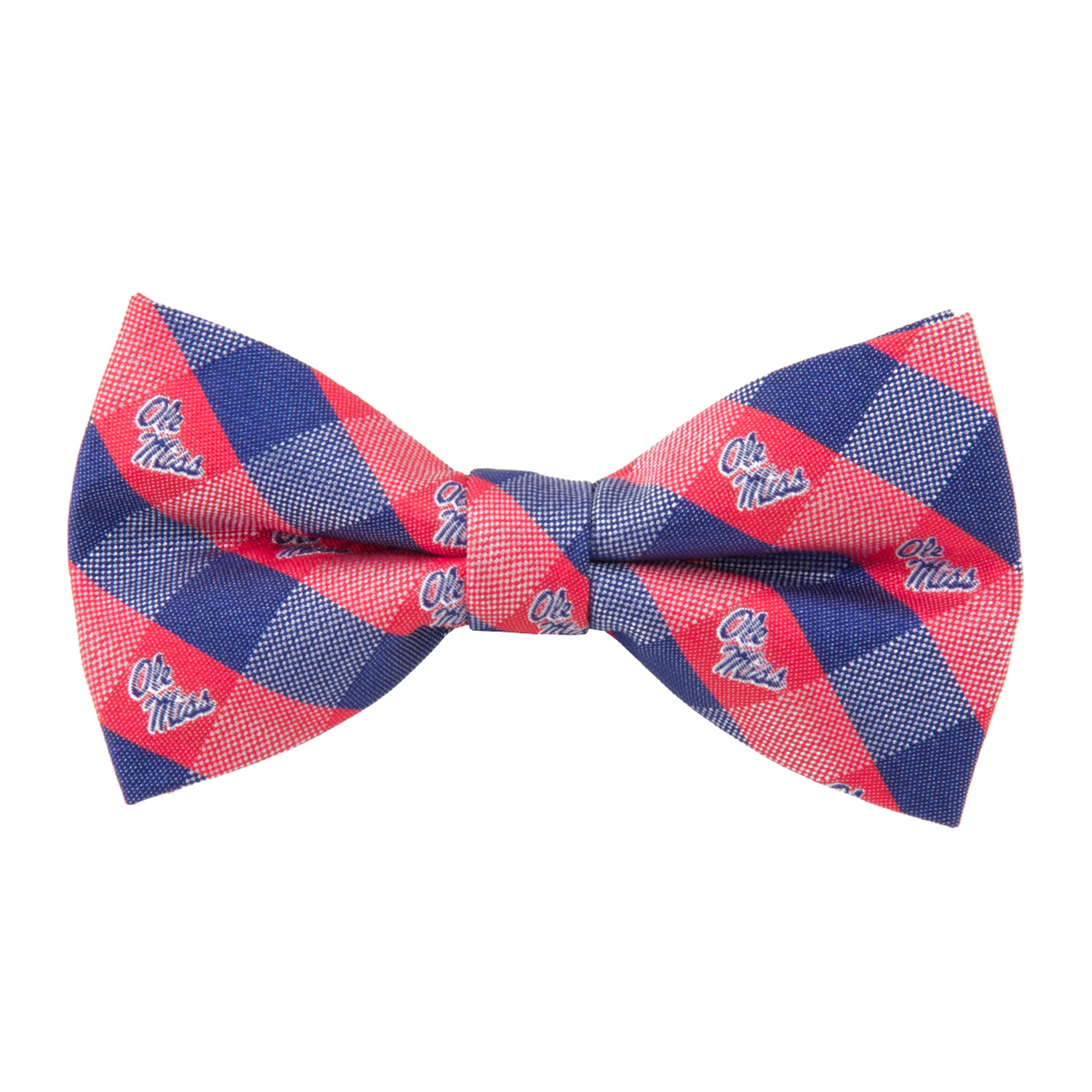Ole Miss Bow Tie - Check