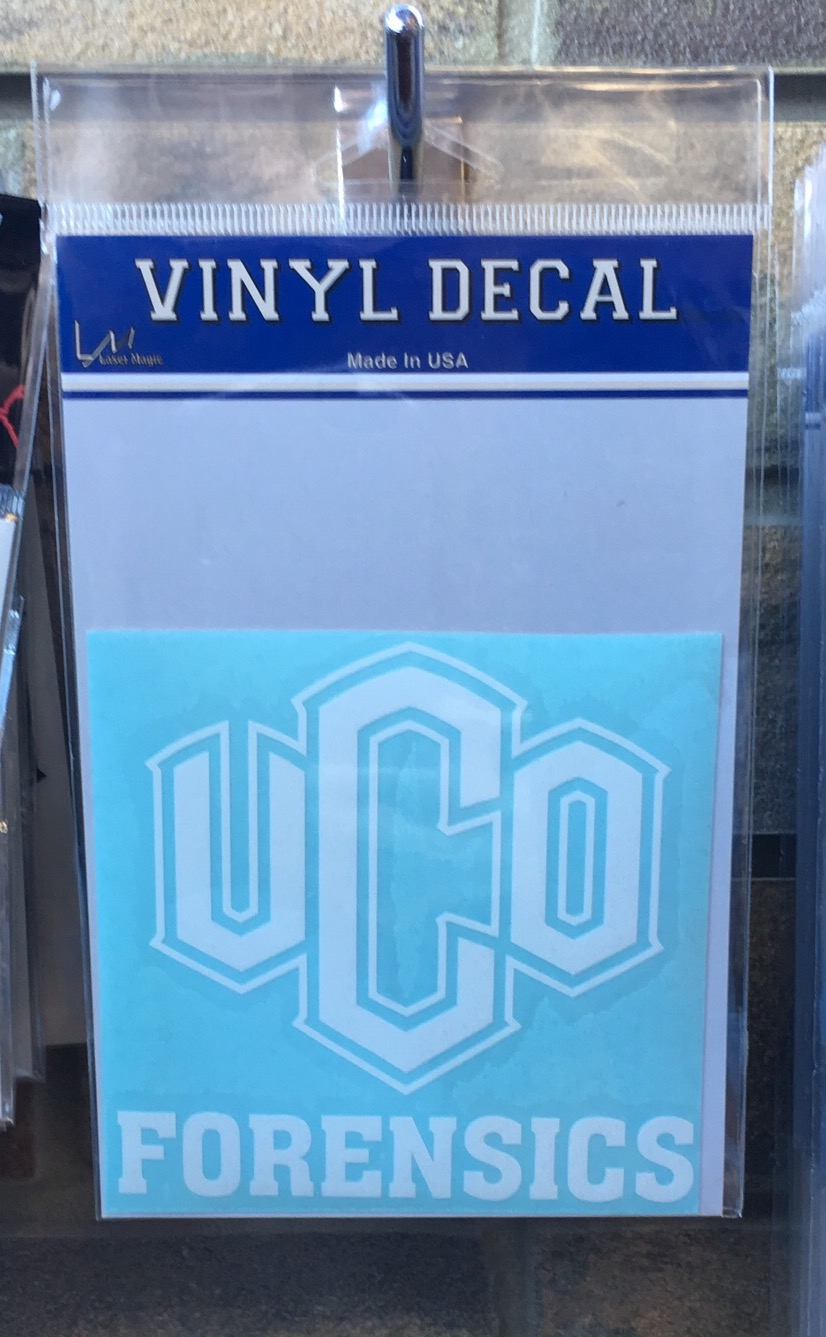 UCO Forensics Decal