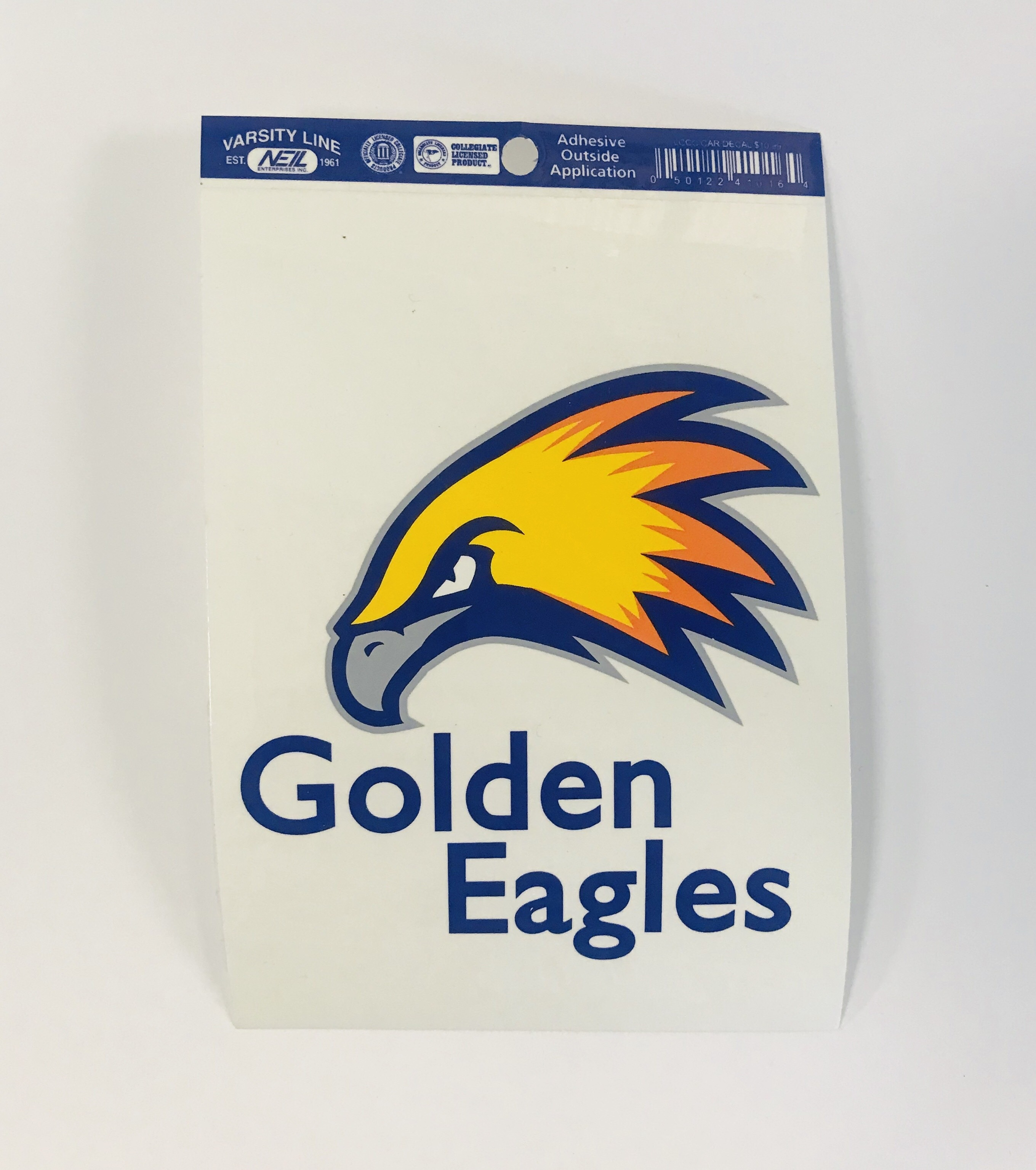 Golden Eagles Adhesive Car Decal