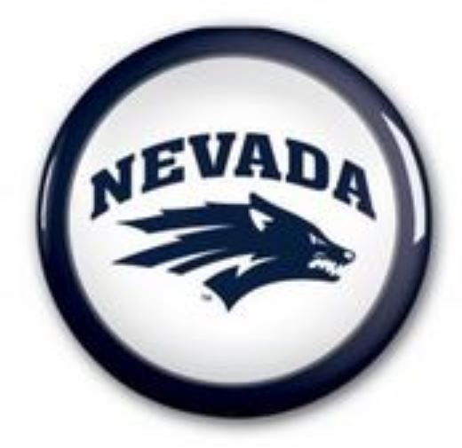 Nevada Wolf Button Navy/White