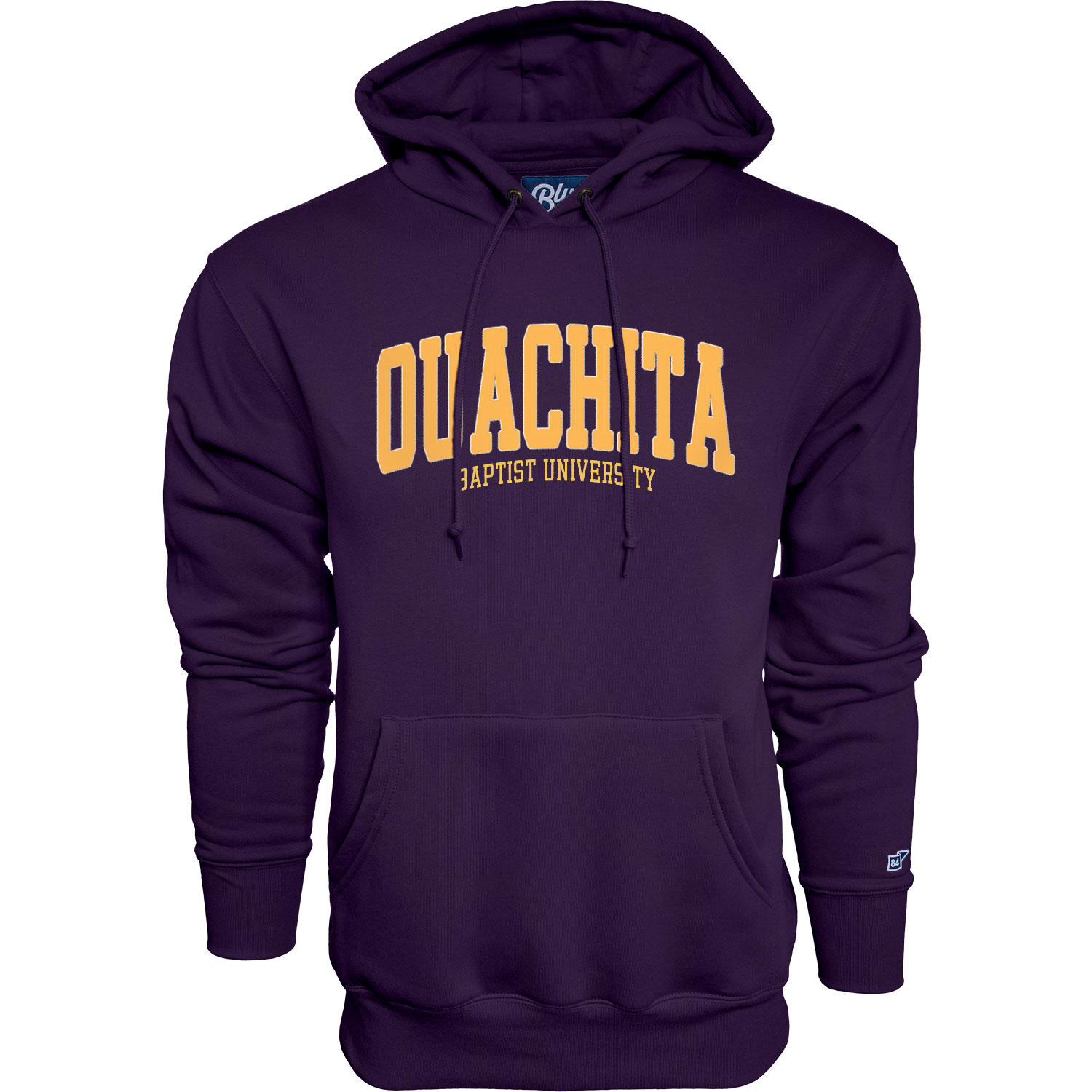 OUACHITA BAPTIST UNIVERSITY TWILL LETTERED HOODY
