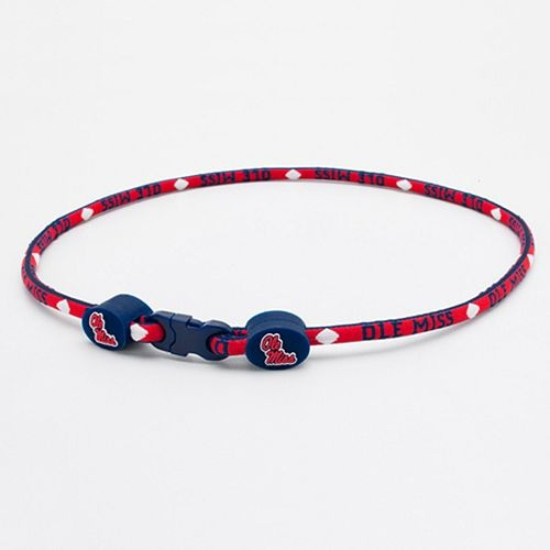 Ole Miss Titanium Sport Necklace