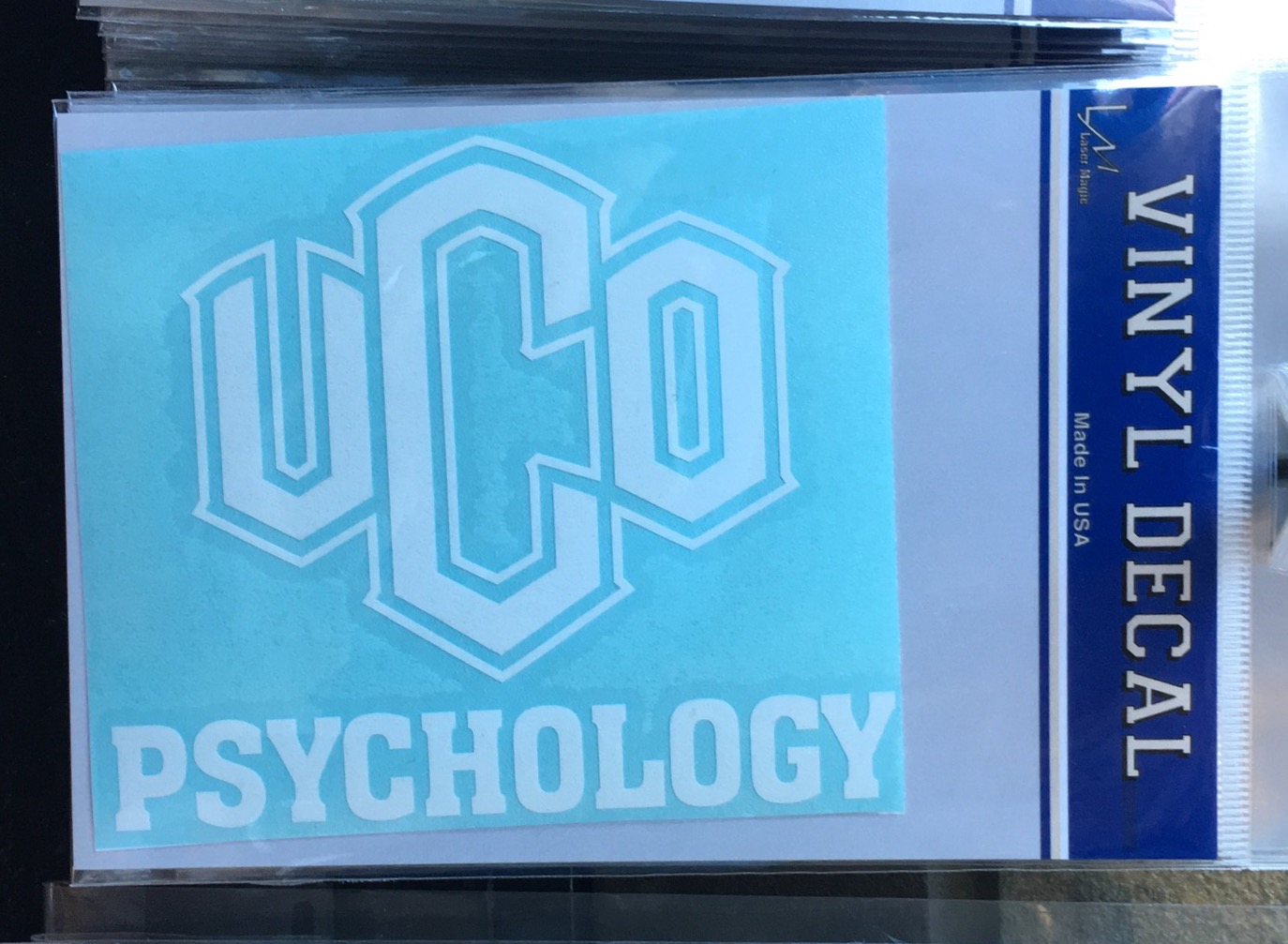UCO Psychology Decal