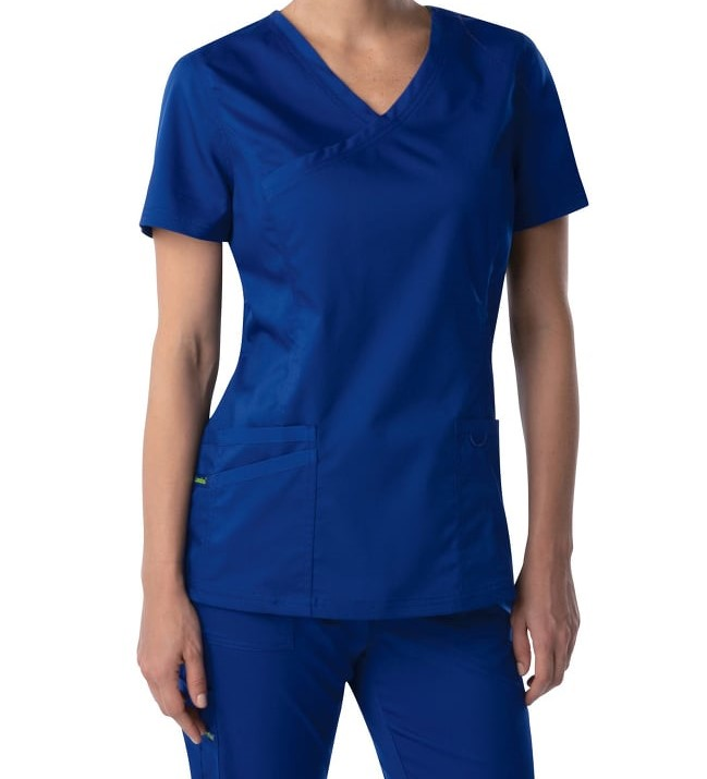 Blue Child Devlopment Scrub Top