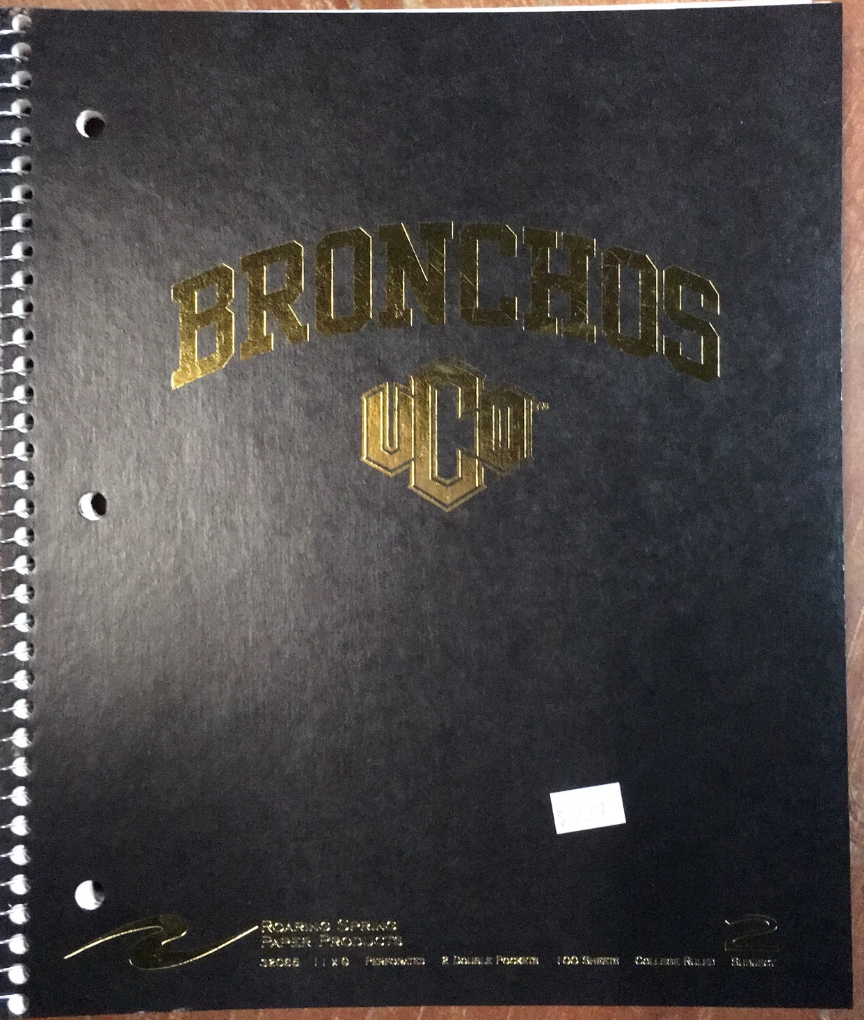 UCO Bronchos Notebook