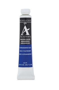 Grumbacher Watercolor Paint - Ultramarine Blue