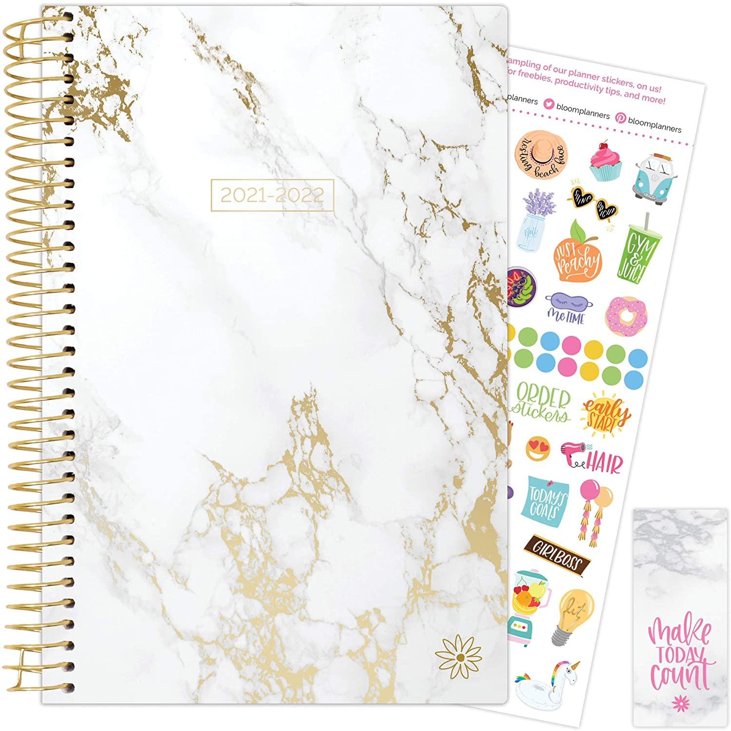 Marble 2021-22 Soft Cover Planner