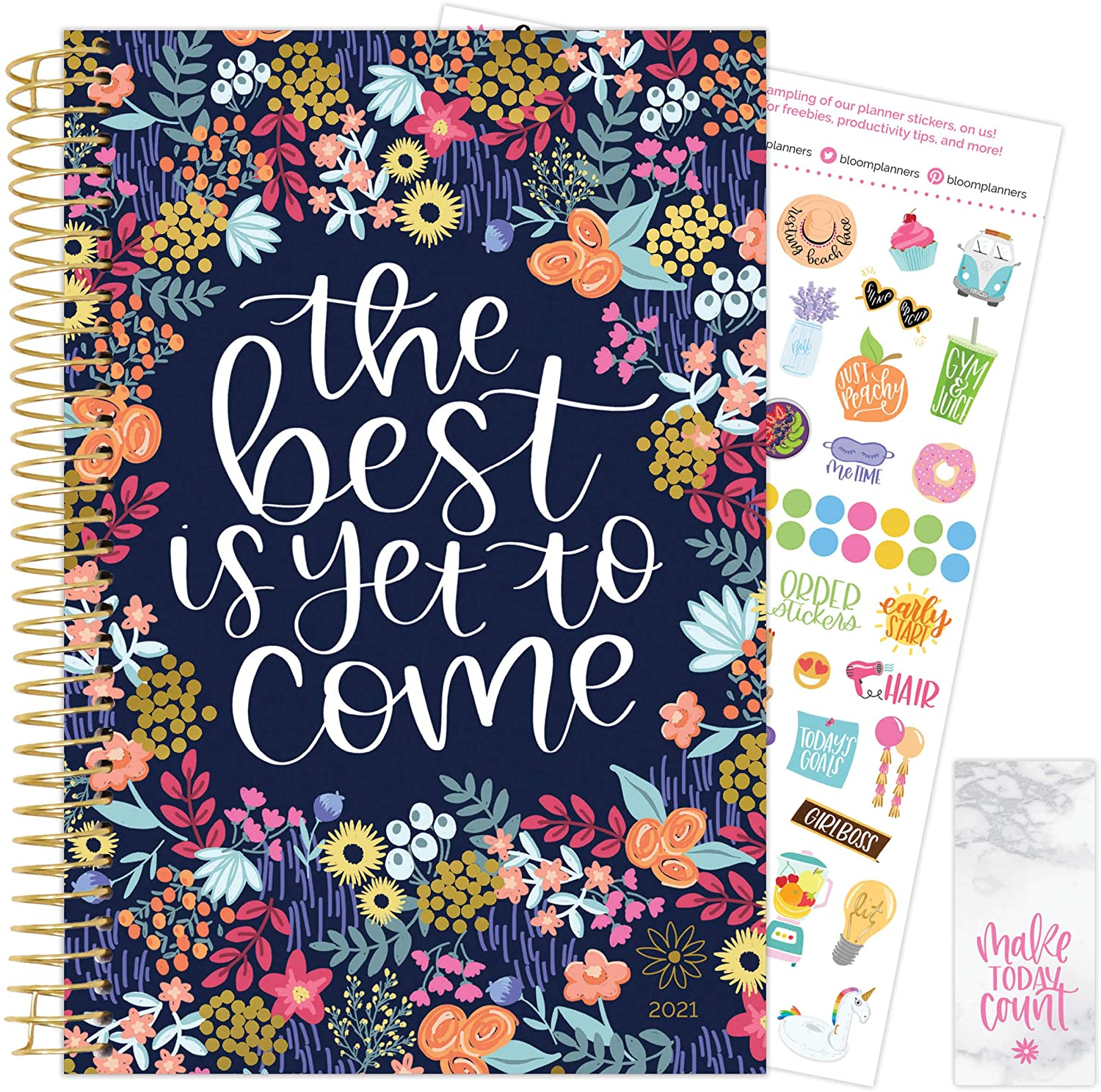 Best is Yet to Come 2021-22 Soft Cover Planner