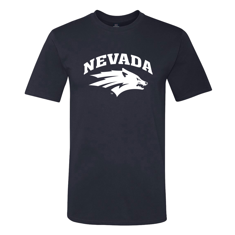 Navy T-Shirt - Wolf