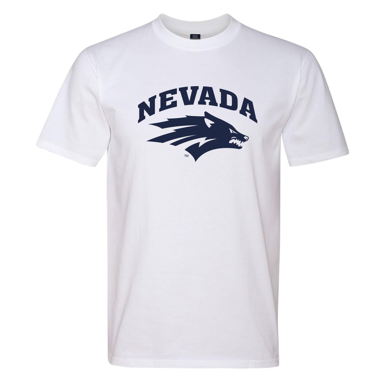 White T-Shirt - Wolf