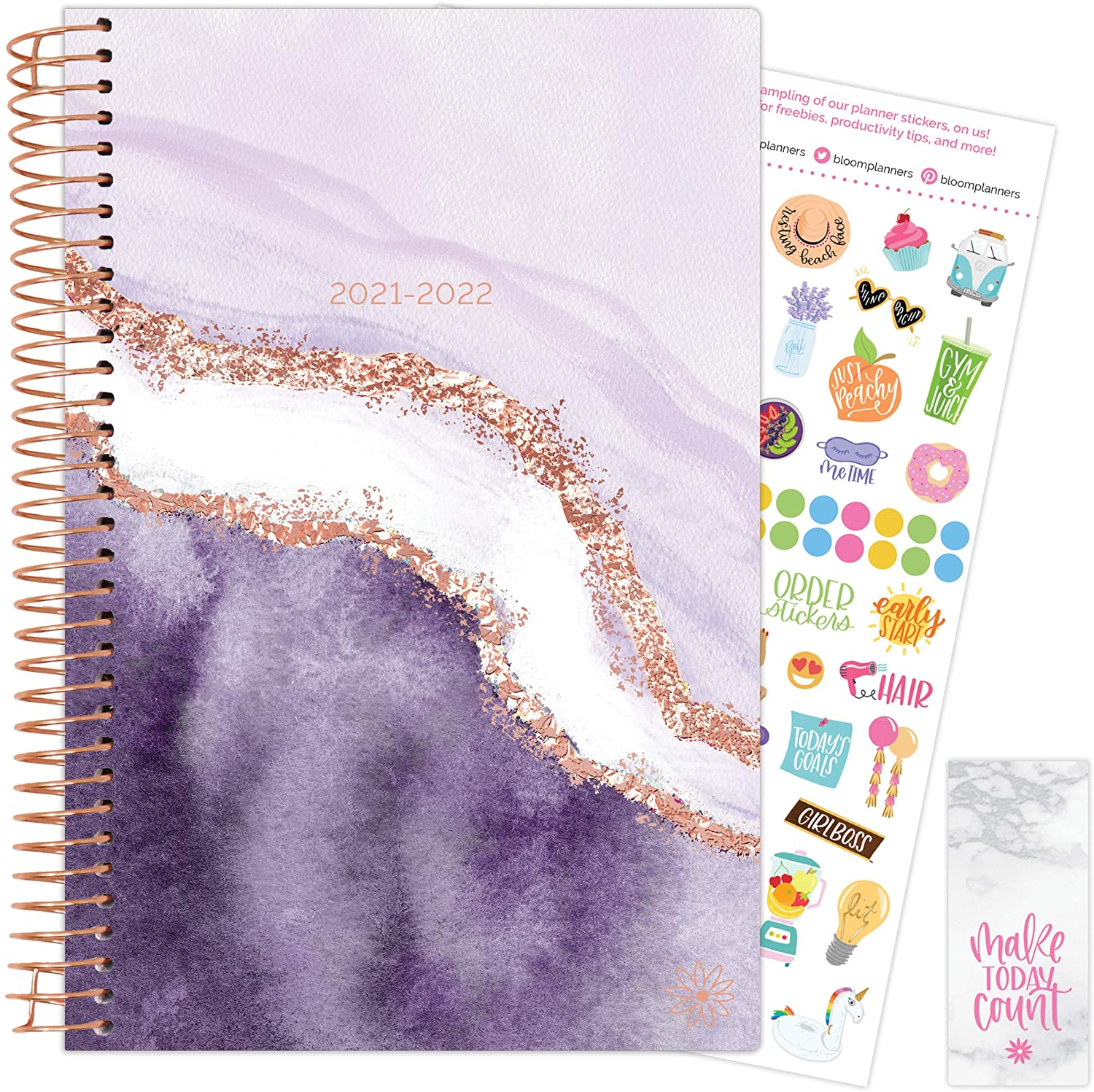 Lavender Daydream 2021-22 Soft Cover Planner