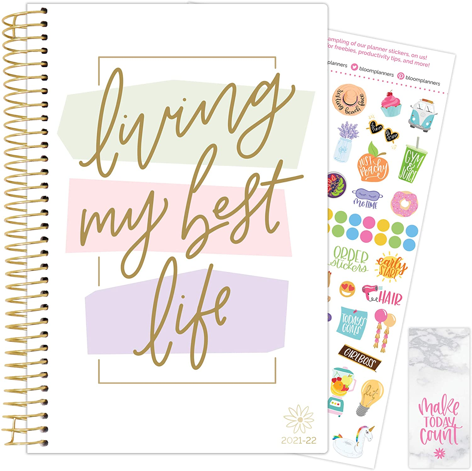 Living My Best Life 2021-22 Soft Cover Planner