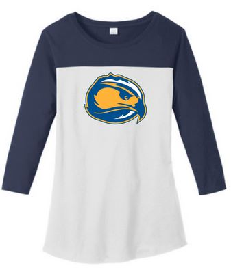 Skyhawk Logo Women's Baseball Tees