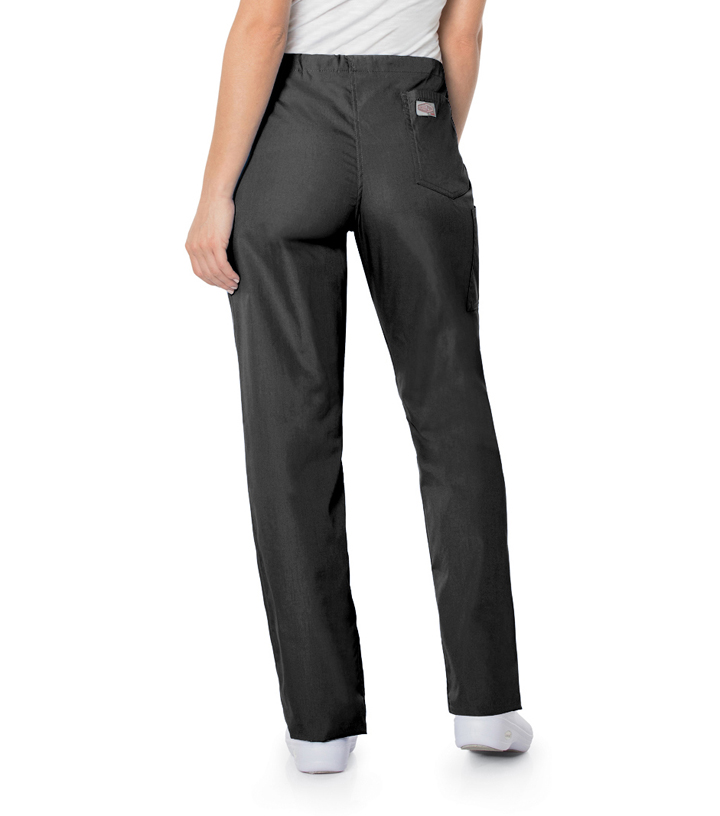 Black Cosmetology Scrub Bottoms