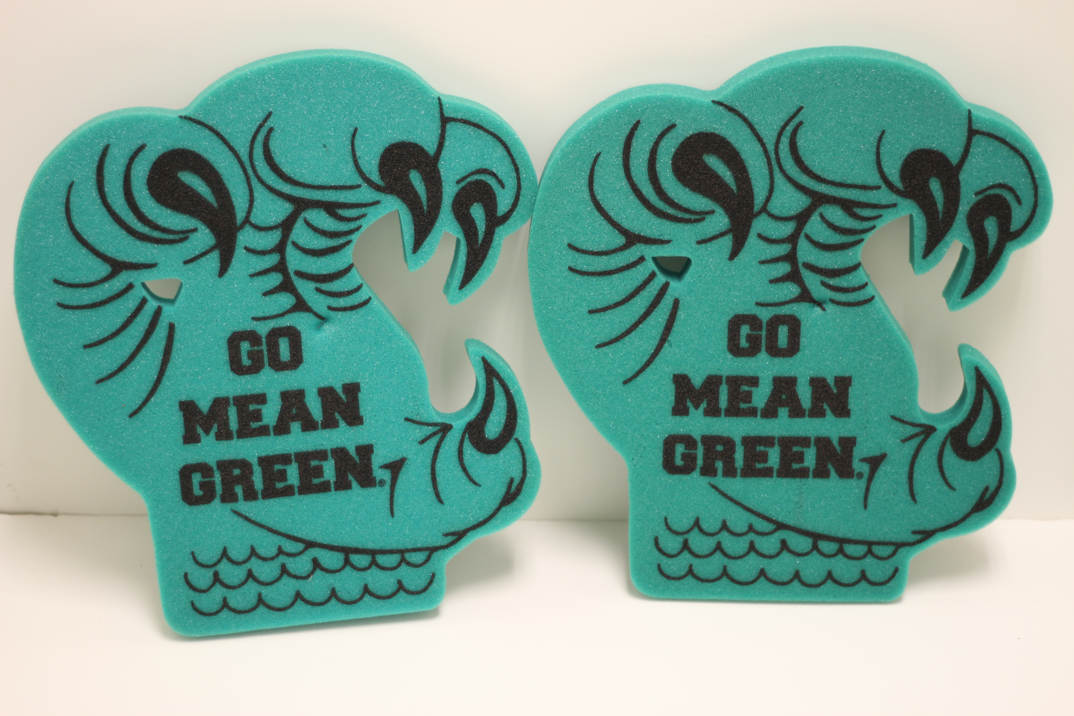 GO MEAN GREEN FOAM CLAW