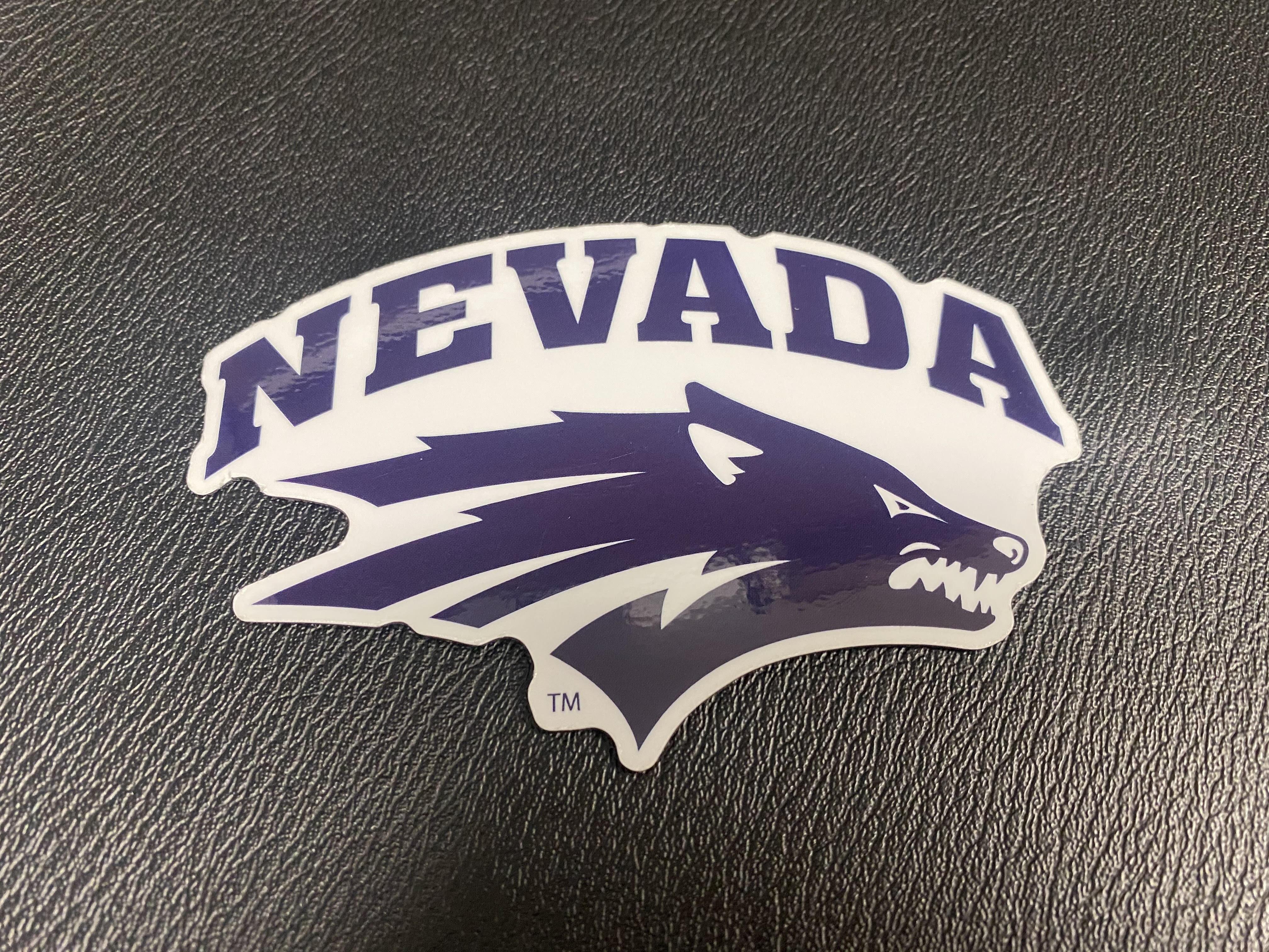 Nevada Wolf Magnet