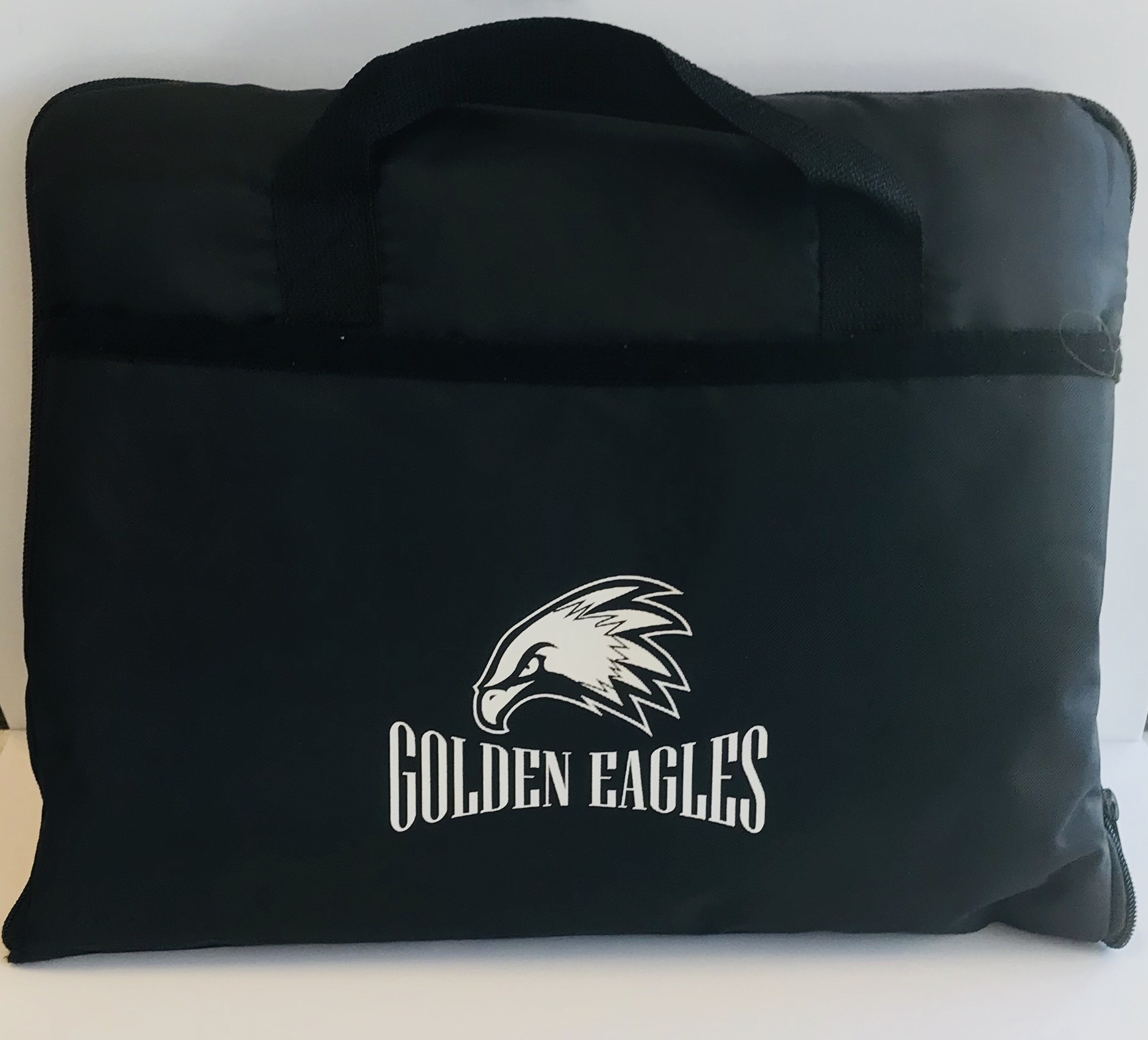 Golden Eagles Seat Cushion & Blanket