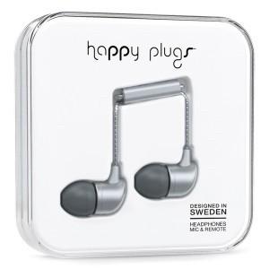 HappyPlugs Headphones with mic & remote