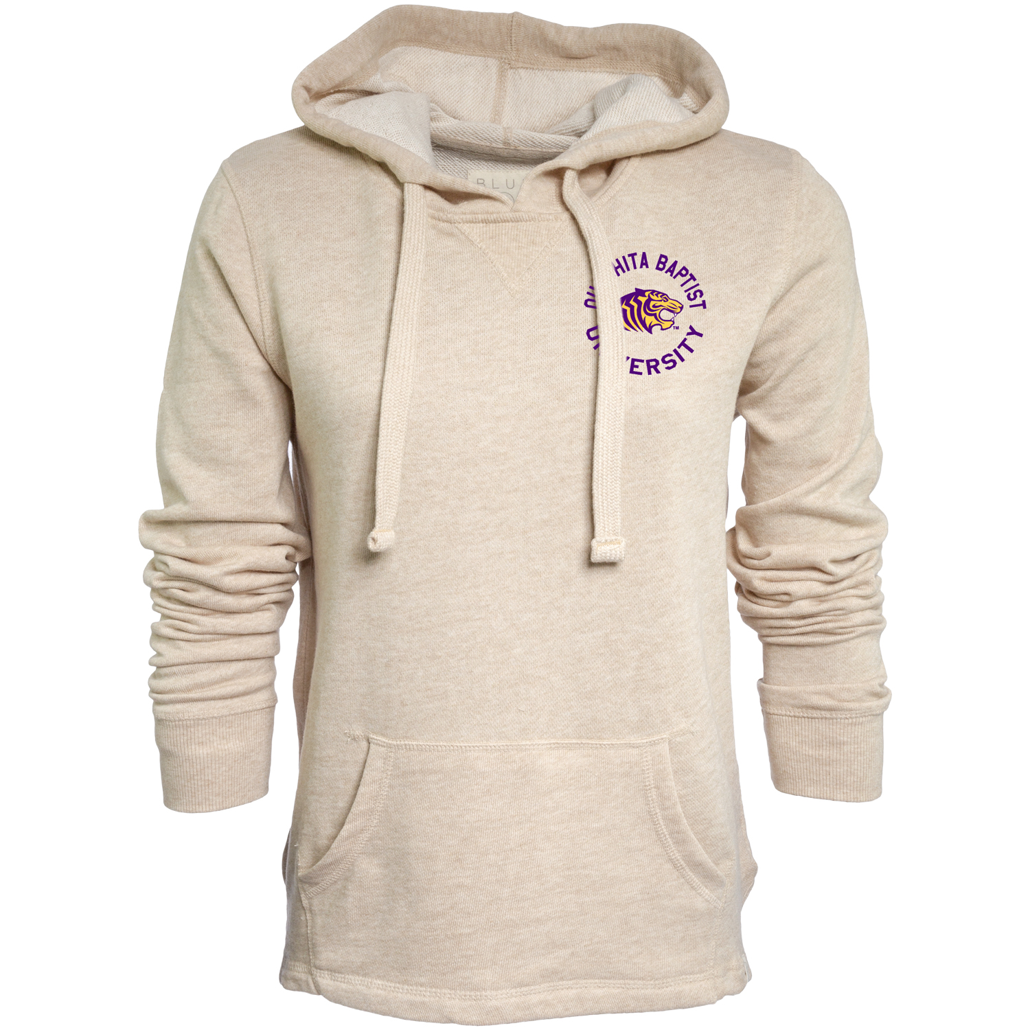 OUACHITA BAPTIST UNIVERSITY FRENCH TERRY HOODED PULLOVER