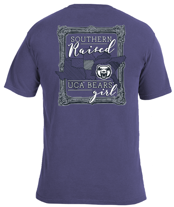Southern Raised Girl CC Tee