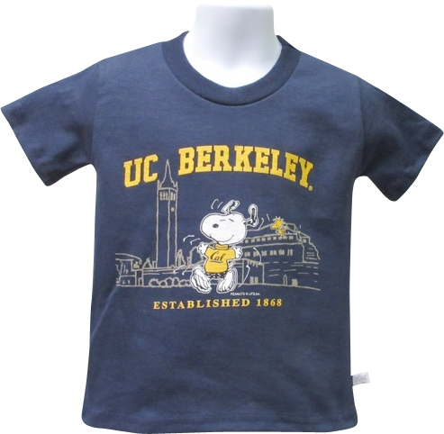 University of California Berkeley Toddler Tee Snoopy Campus Scene