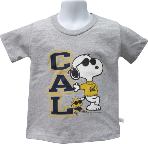 University of California Berkeley Toddler Tee Snoopy Lean