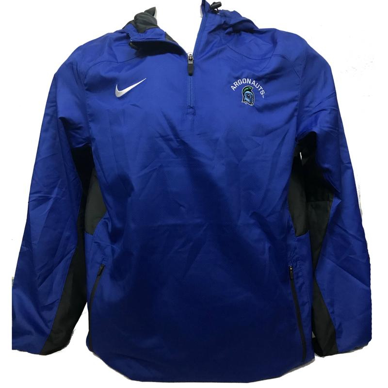 Woven 1/4 Zip Rain Jacket